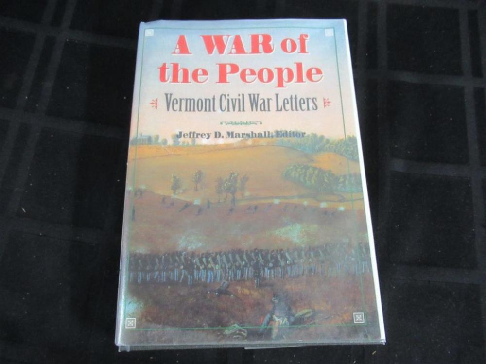 A War of the People Vermont Civil War Letters 1999