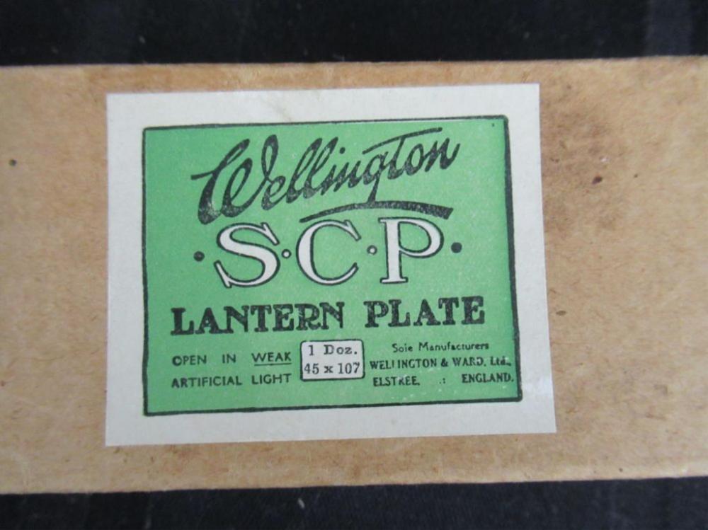 Wellington SCP Lantern Plate - 9 plates people