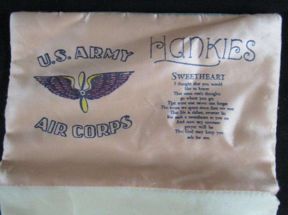 US Army Air Corps Hankies Holder