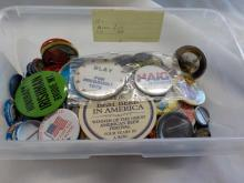 Group of Misc Political & Topical Pin/Buttons
