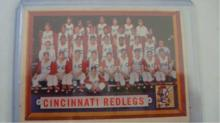 1957 TOPPS Redlegs Team Card (sp) VG-EX
