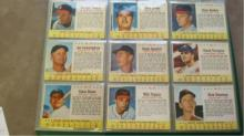 1963 Post Cereal 33 Baseball Cards 25 well cut