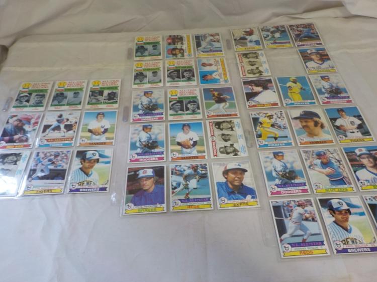 41 1979 TOPPS Baseball Stars & Superstar Cards