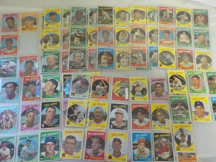 95 1959 TOPPS Baseball Cards