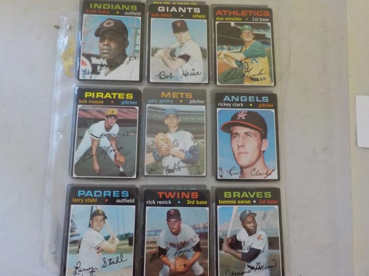 25 1971 TOPPS Baseball Cards High #S VG-EX+