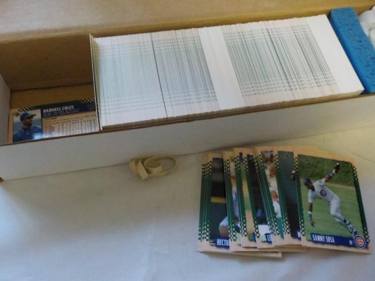 About 500-550 1996 Score Baseball Cards