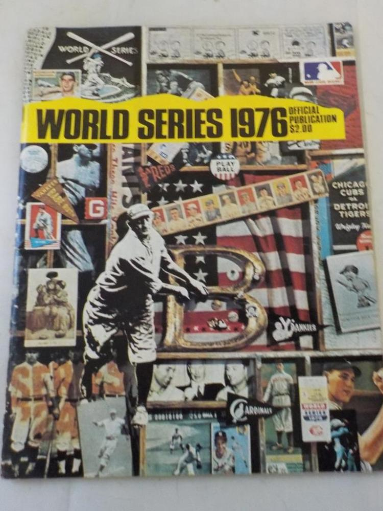1976 World Series Program