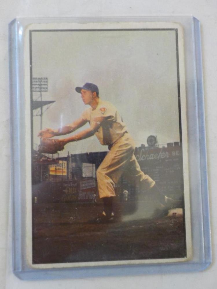 1953 Bowman Gill Hodges Baseball Card