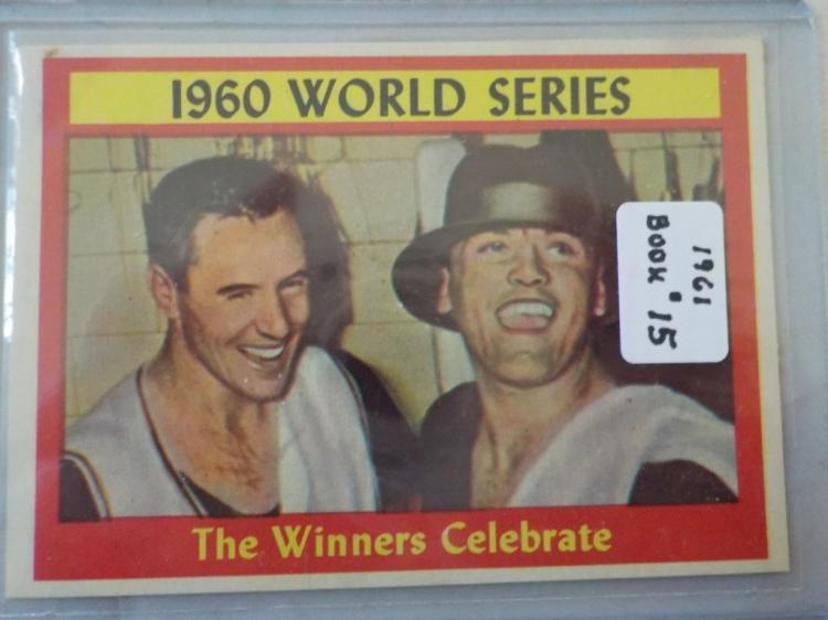 1961 TOPPS The Winners Celebrate #313