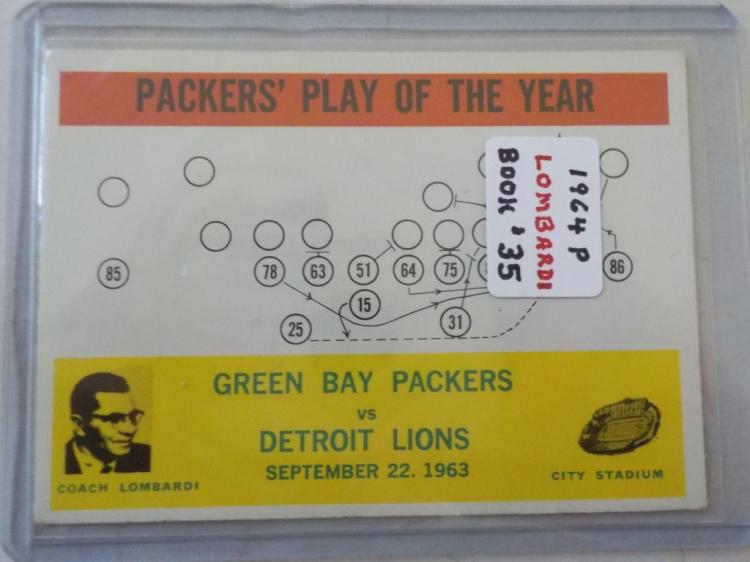c.1965 Philadelphia Packer's Play of the Year #84