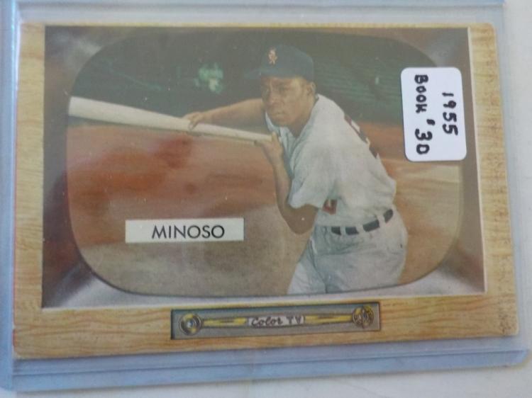 1955 Bowman Minnie Minoso #25 Card EX-M