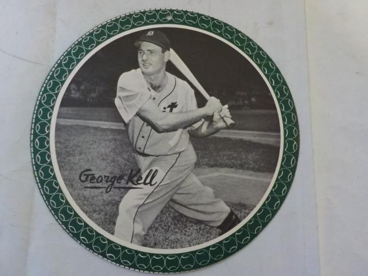 1950 Garden City All-Star Pin Up George Kell SCARC