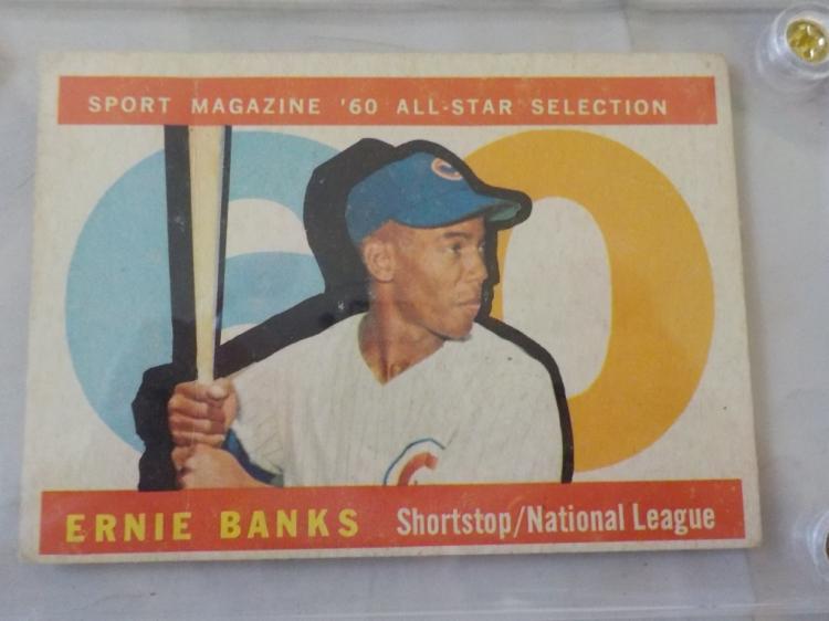 1960 TOPPS Ernie Banks All-Star VG-EX #560