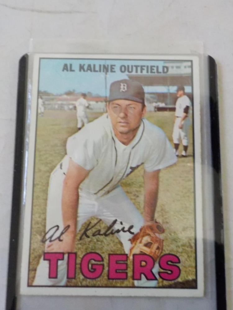 1967 TOPPS Al Kaline #30 Baseball Card NM