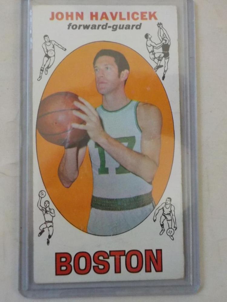 1969 TOPPS John Havelicek Rookie Basketball Card
