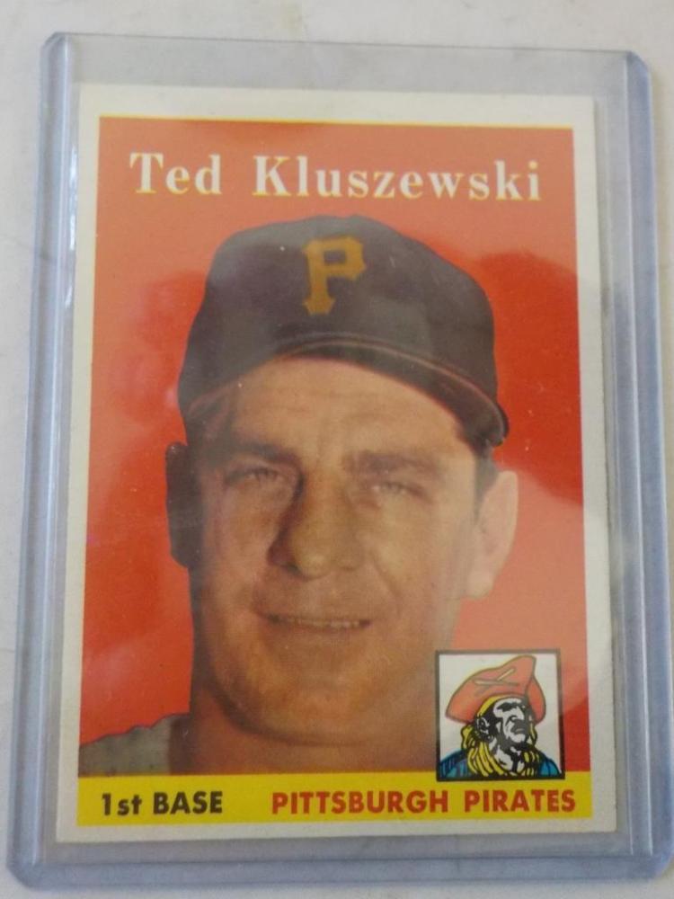 1958 TOPPS Ted Kluszewski #178 Baseball Card