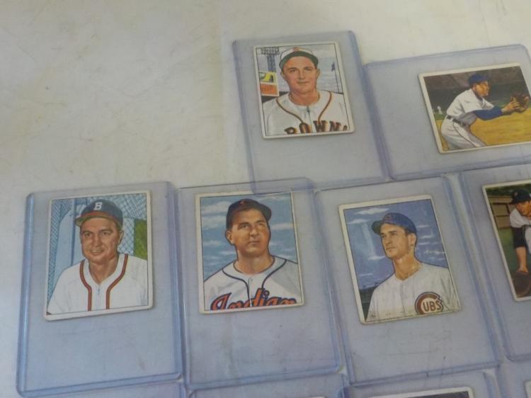 20 1950 Bowman Baseball Cards