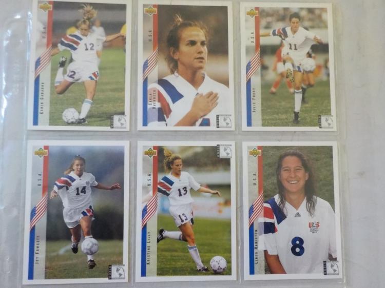 6 Women US National Soccer Stars
