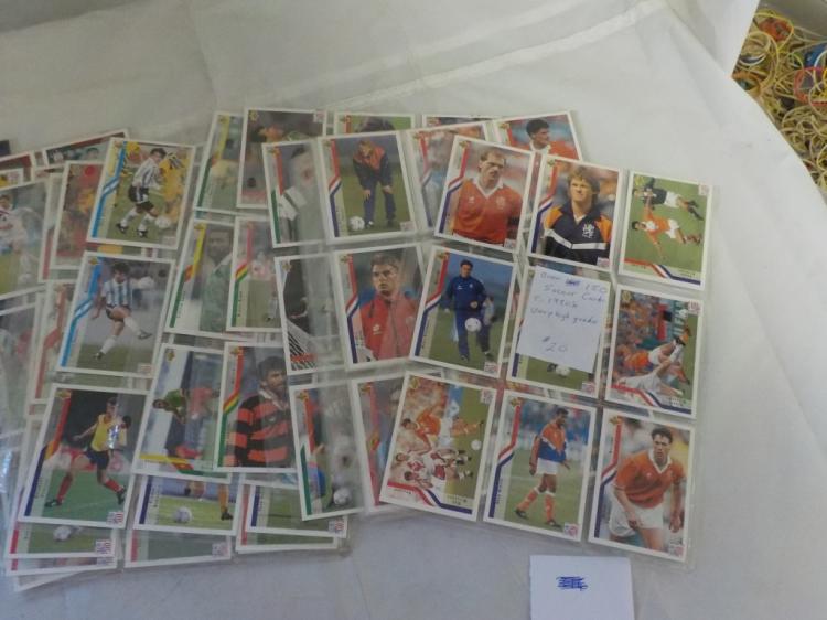 Over 150 Upper Deck Soccer Cards Very High Grade