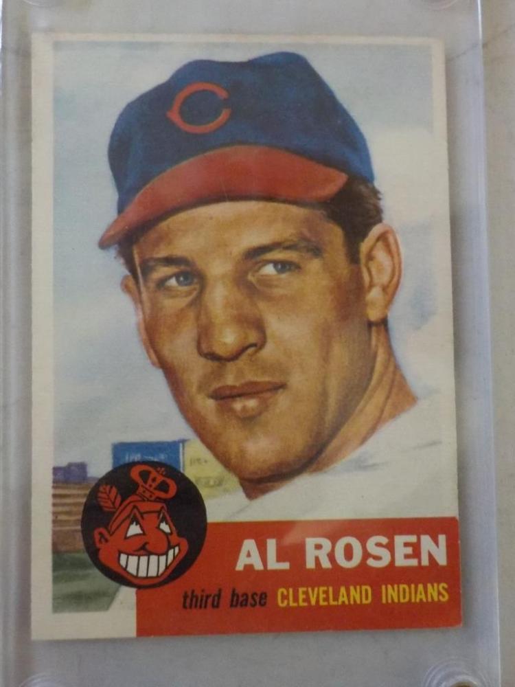 1953 TOPPS All Rosen Baseball Card #135