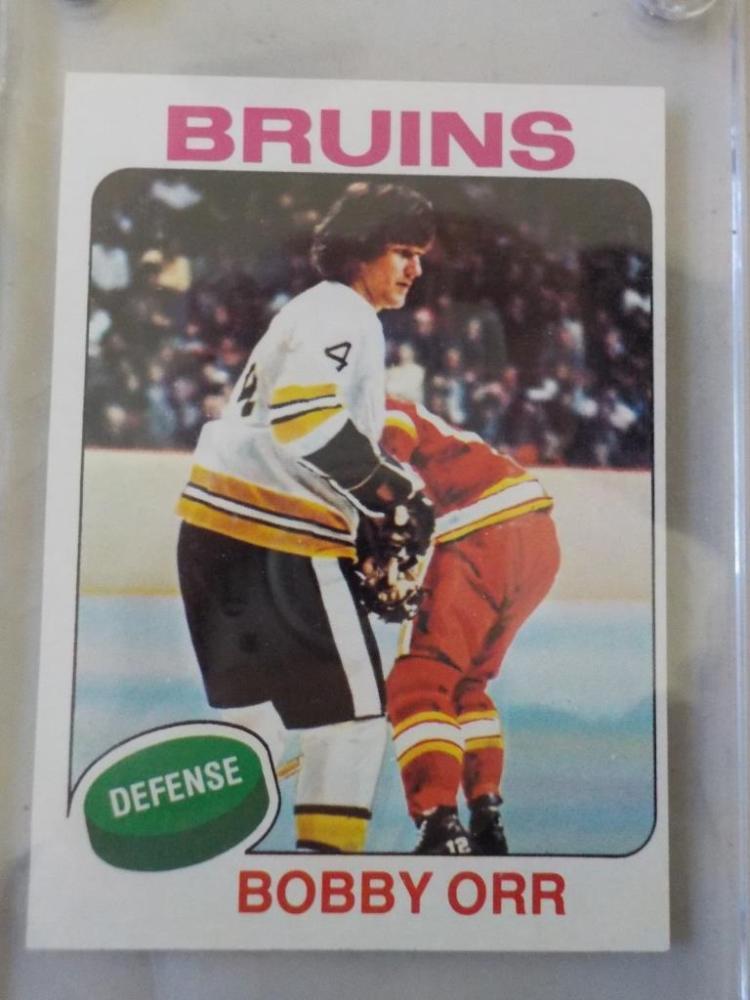 1968-69 TOPPS Hockey Bobby Orr #100 card M