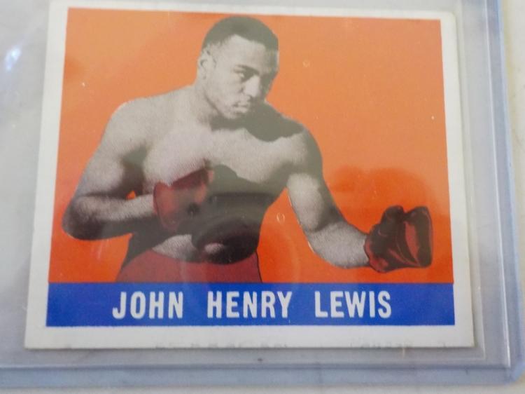 1948 Leaf Boxing John Henry Lewis NM