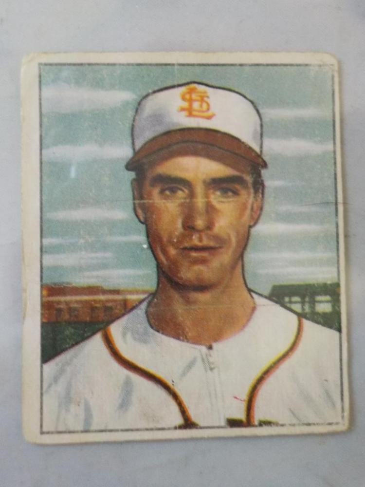 1950 Bowman #252 Last Card in Set