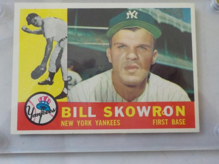 1960 TOPPS Bill Skowron Baseball Card #370