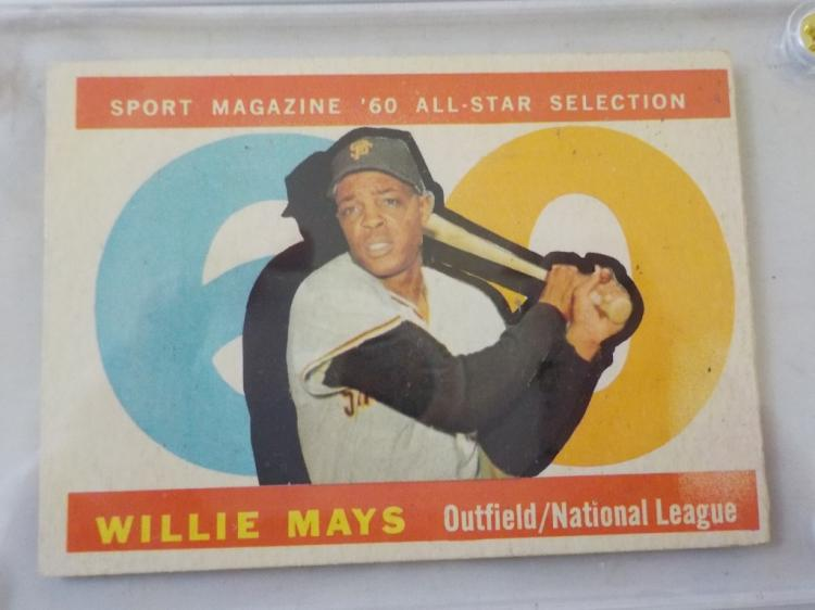 1960 TOPPS Willie Mays All-Star #564 Card
