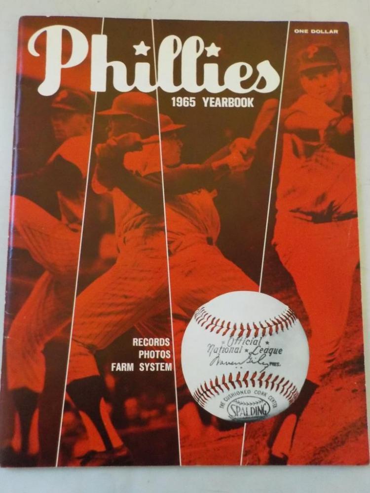 1965 Phillies Yearbook