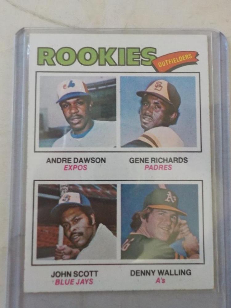 1977 TOPPS Andre Dawson Baseball Card #473