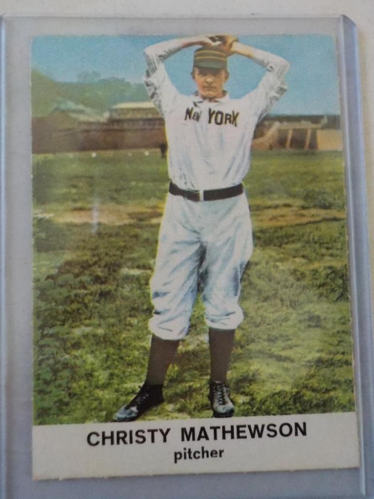 1960 Golden Press Christy Matherson card