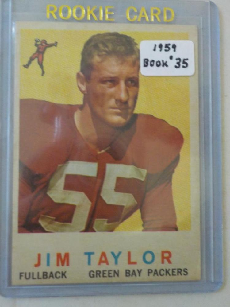 1969 TOPPS Jim Taylor #155 Rookie Football Card