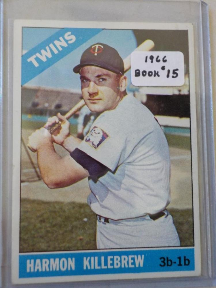 1966 TOPPS Harmon Killbrew Card #120 EX-M
