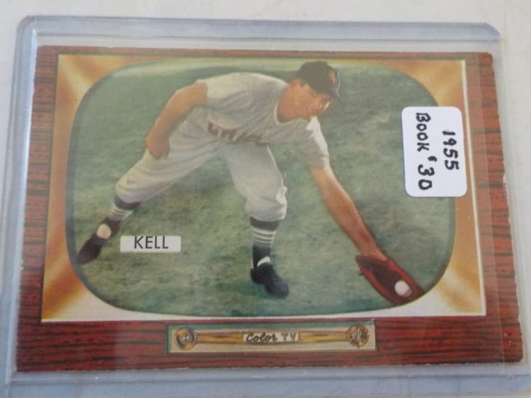1955 Bowman George Kell # 213 EX+ - EXM
