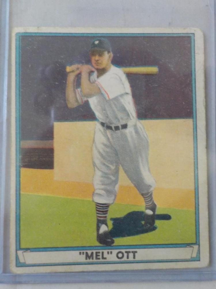 1941 Playball Mell Ott Baseball Card