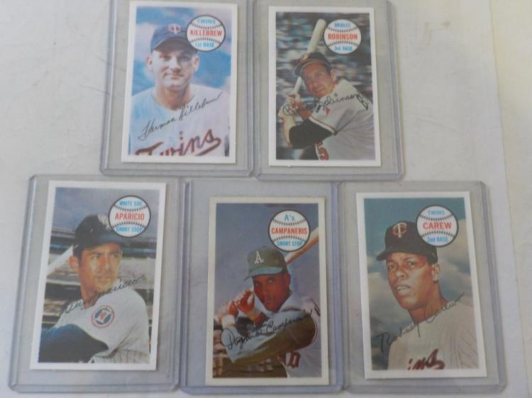 5 1970 Kellogg's Baseball Superstars NM-M