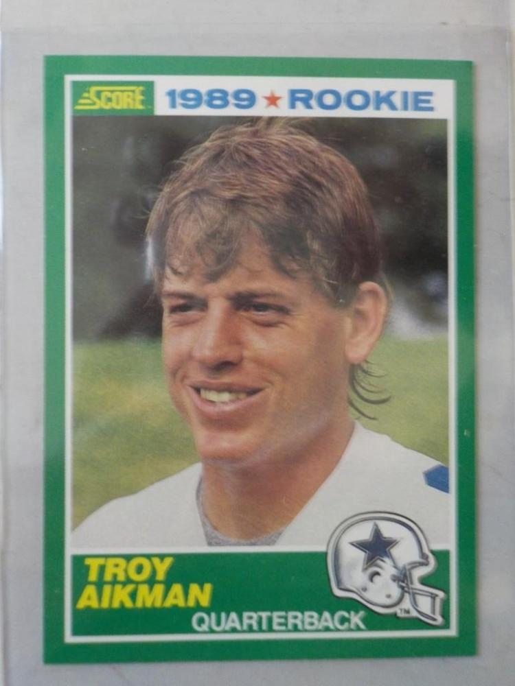 1989 Score Troy Aikman Rookie Cards NM-M+