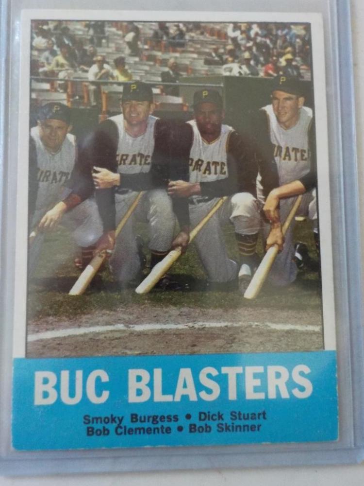 1963 TOPPS Buc Blasters #18 Baseball Card EXM-NM