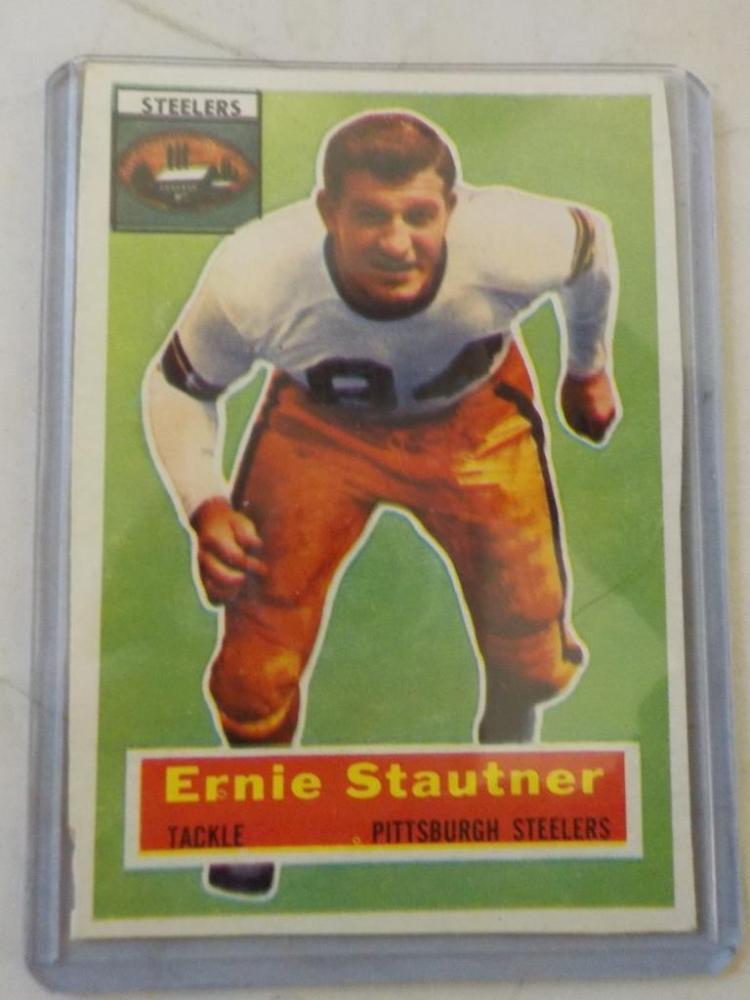 1956 TOPPS Ernie Stautner Football Card