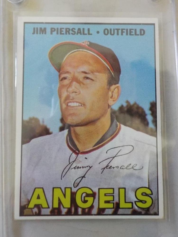 1967 TOPPS Jim Piersall #584 Card EXM
