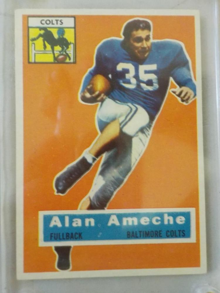 1956 TOPPS Alan Ameche Rookie #12 Card