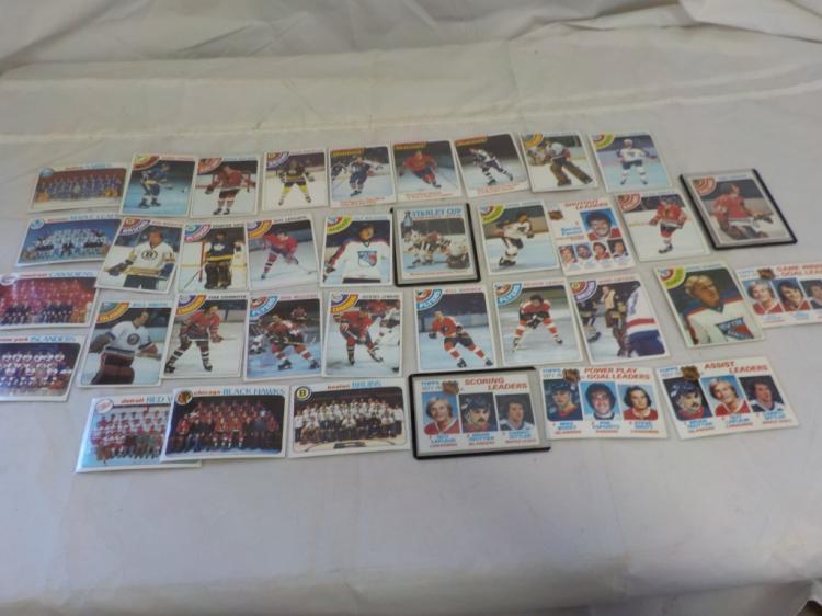 35 1978-79 TOPPS Hockey Cards NM or Better