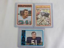 1972 TOPPS Football Dick Butkus & other Stars