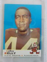 1969 TOPPS Football #1 LeRoy Kelly NM or Better