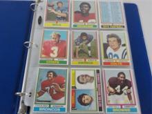 1973,74,77,78 TOPPS Football Stars Plus (135)