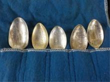 4 Sterling 1 Not Sterling Souviner Spoons
