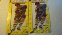 2 Terry O'Reilly Hockey Heroes Pin-up Stand-Up