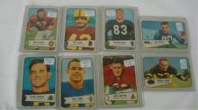 8 1954 Bowman Football Cards NM or Better