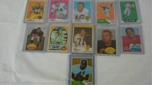 12 1960-69 TOPPS Football Cards ~7 HoFs EXM-NM